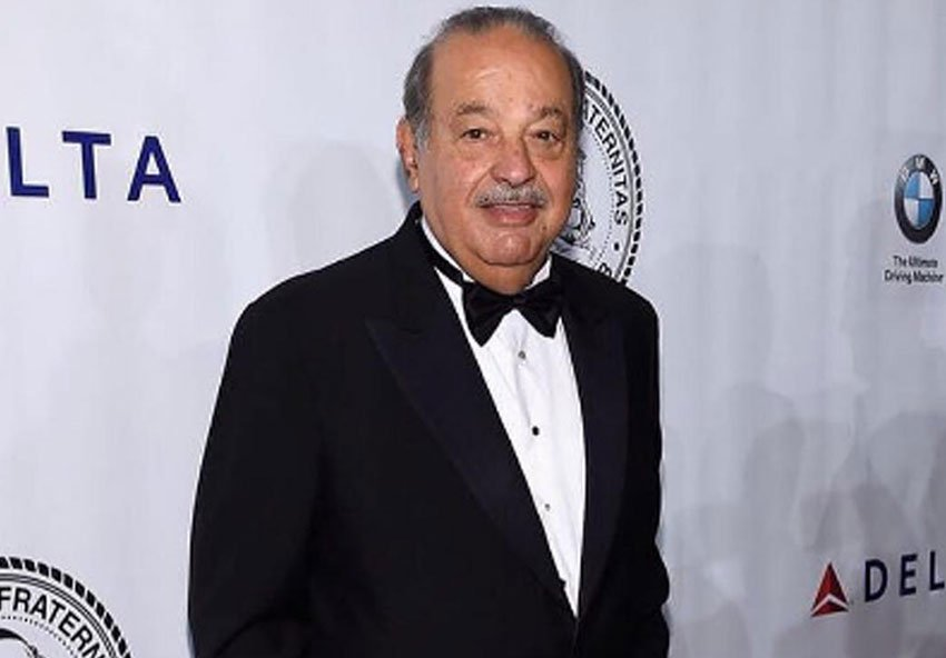 Carlos Slim's foundation donated the lion's share of earthquake relief funds.