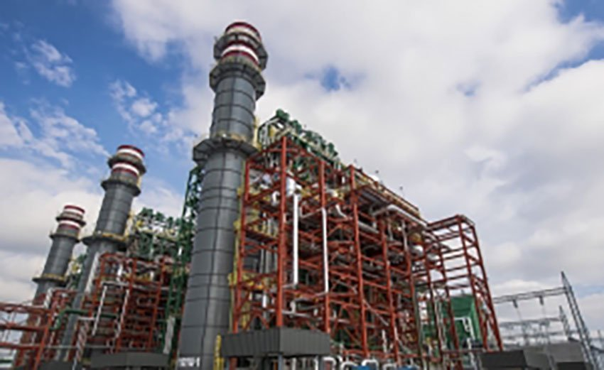 Techint's power plant in Pesquería, opened last March.