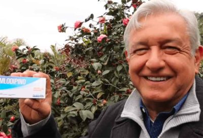 AMLO and his medication.