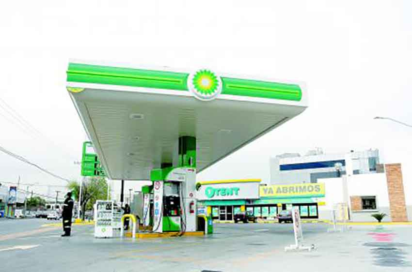 One of BP's new gas stations.