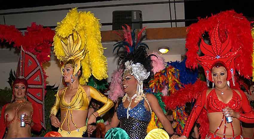 Carnival costumes at a previous CarnavalPV.