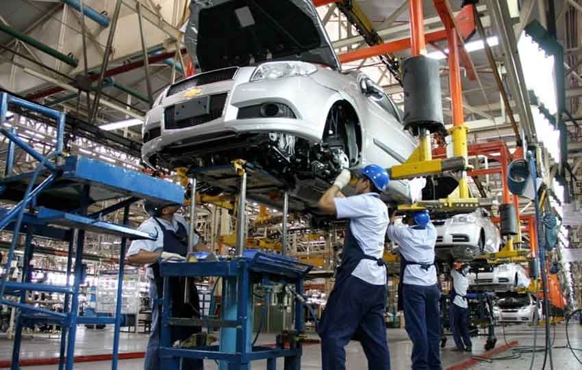 Automotive industry led growth in exports last year.
