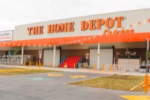 Home Depot will open two or three new stores in Mexico this year.
