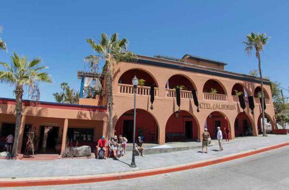Hotel California Baja, in Todos Santos.