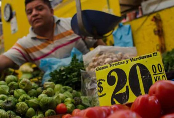 Higher vegetable prices were one factor in higher inflation.