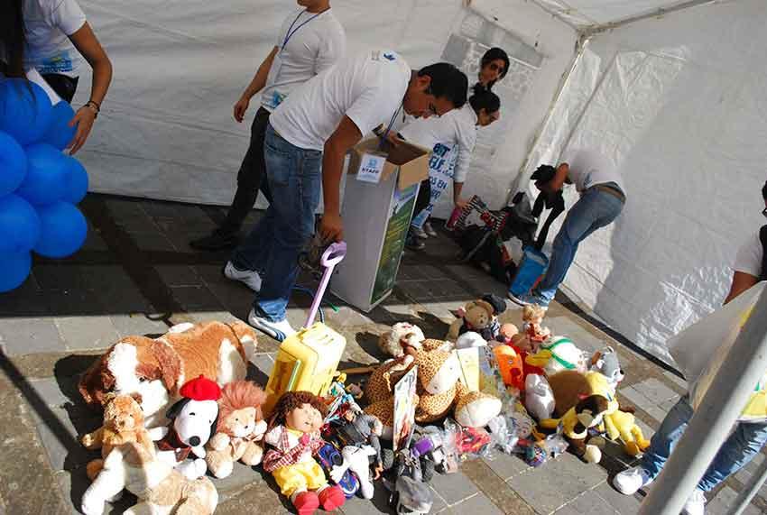 Juguetweet toys in Xalapa, Veracruz.