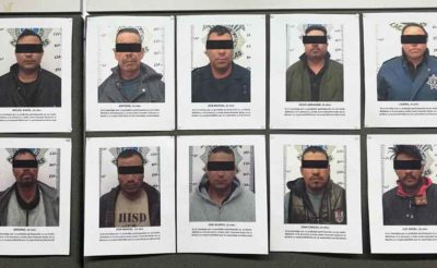 Kidnapping suspects arrested in Zacatecas.