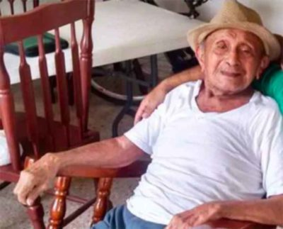 Don Filo: one of the oldest men in Yucatán.