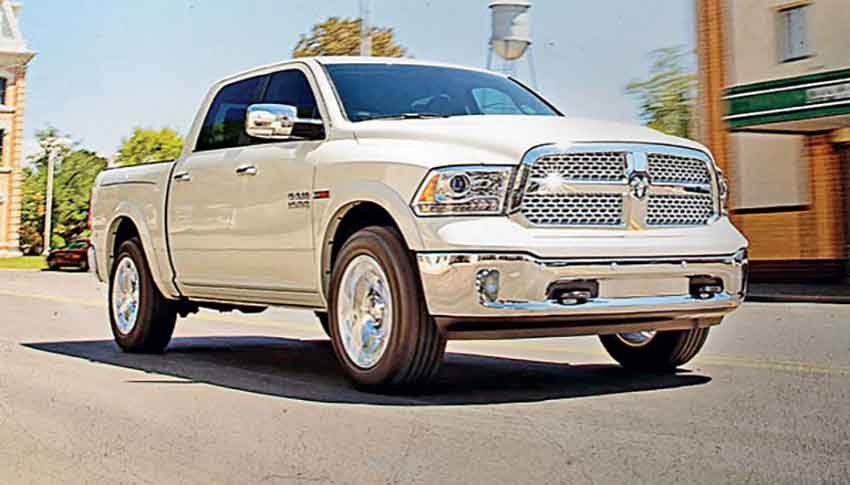 The RAM pickup: production will move north.