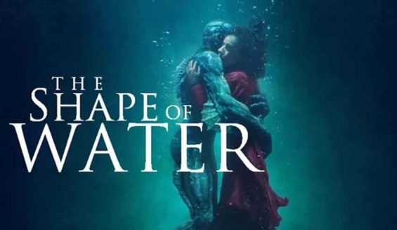 The Shape of Water swept the Oscar nominations, announced this morning.