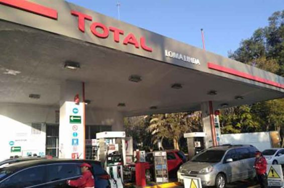 The new Total station in Mexico City.