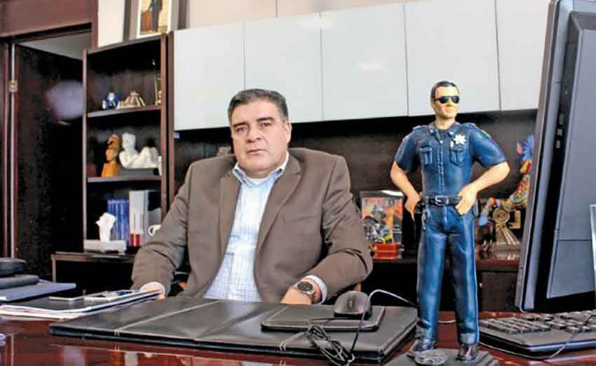 Zacatecas Security Secretary Camberos: not enough cops.