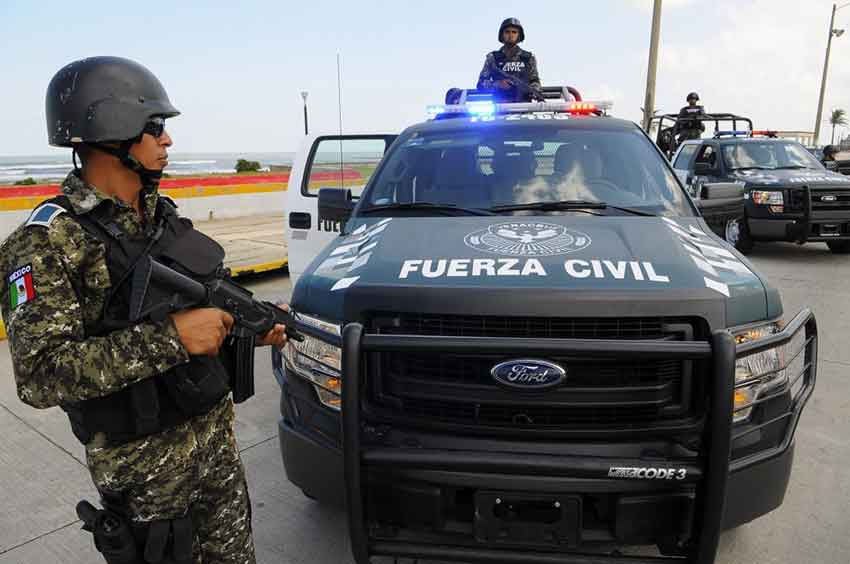 Members of Fuerza Civil implicated in disappearing victims.