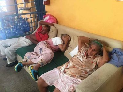 Residents take a midday siesta at Casa de María.