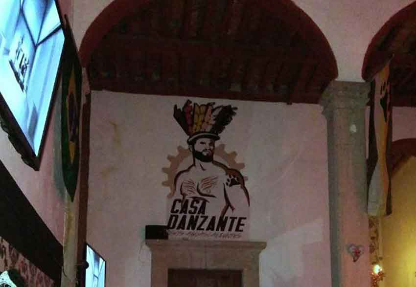 Casa Danzante, closed on moral grounds.