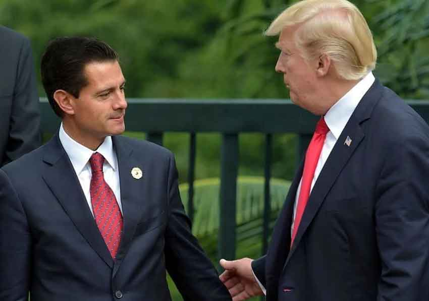 Peña Nieto and Trump: another meeting coming up.