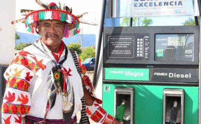 Wixáritari community is owner of new gas station.