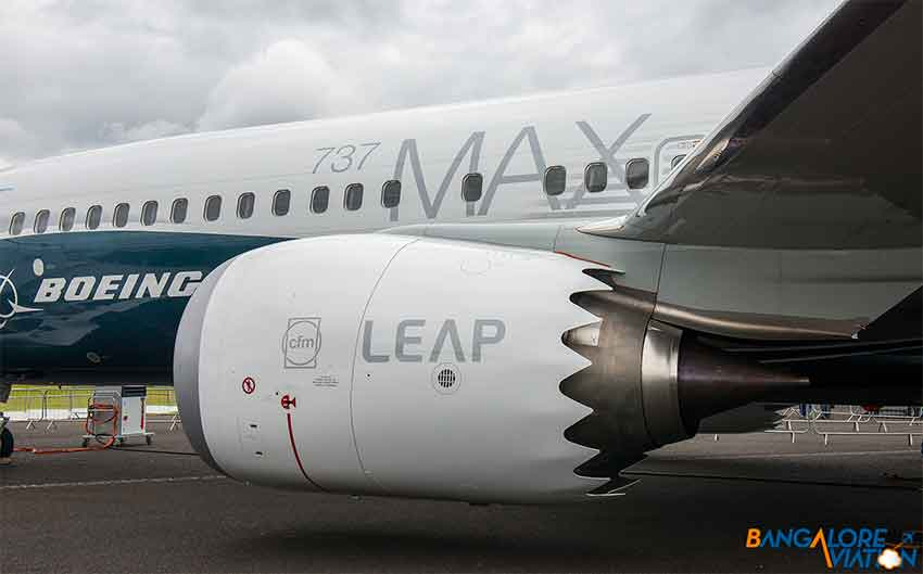 Boeing 737MAX and a LEAP engine with Mexican-made parts.