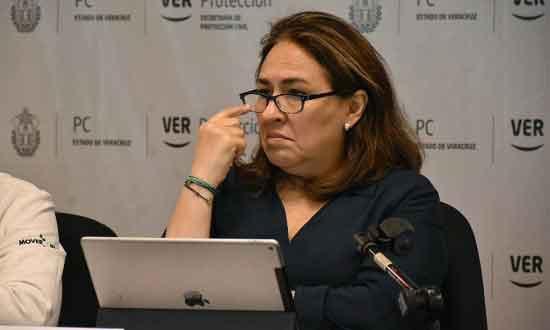 Civil Protection Secretary Baizabal: no more milk.