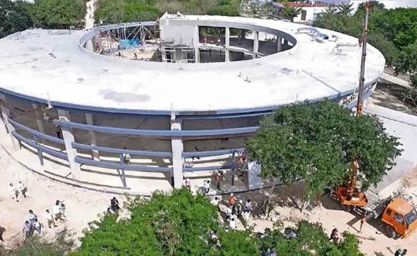 New museum takes shape in Yucatán.