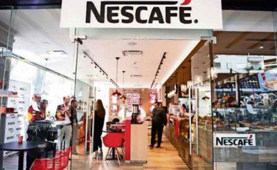 Nescafé outlet in Mexico City.