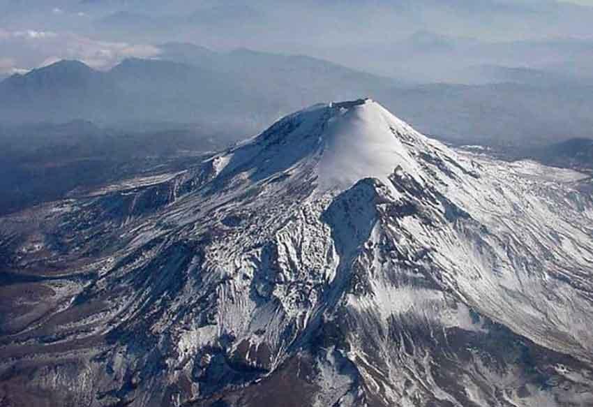 The Pico de Orizaba, popular among climbers.