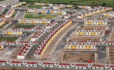 Satellite City in San Luis Potosí.