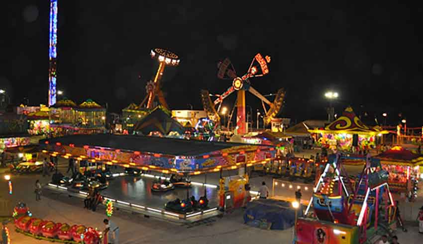 Cuernavaca's fair, canceled for insecurity.