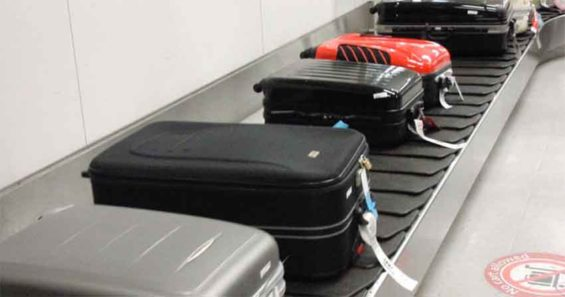 Target of thieves at Mexico City airport.