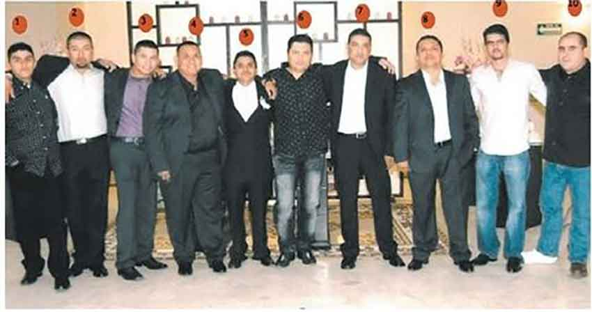 Zetas drug lords in 2010.