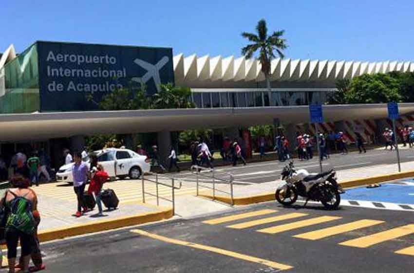 Acapulco's airport: new terminal close to completion.