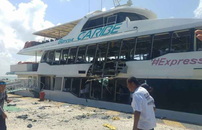 Canada Warns Against Using Tourist Ferries In Quintana Roo