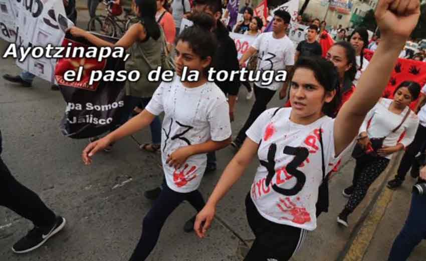 A documentary about Ayotzinapa will be shown in Guadalajara this week.