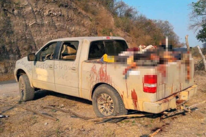 15 Bodies Found In Truck After Michoacan Shoot Out