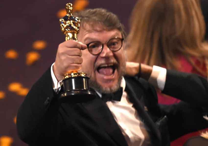 Oscar winner Del Toro.