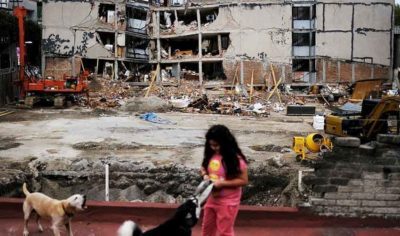 The epicenter of Mexico's lethal September 2017 earthquake was less than 65 miles outside the nation's capital