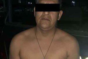 Sandoval, arrested in Guerrero.