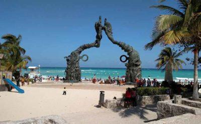 Playa del Carmen, No. 1 in Mexico.