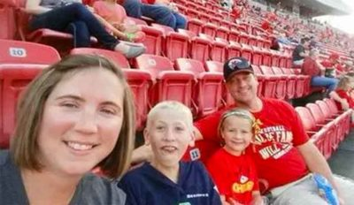 The Sharp family from Creston, Iowa.