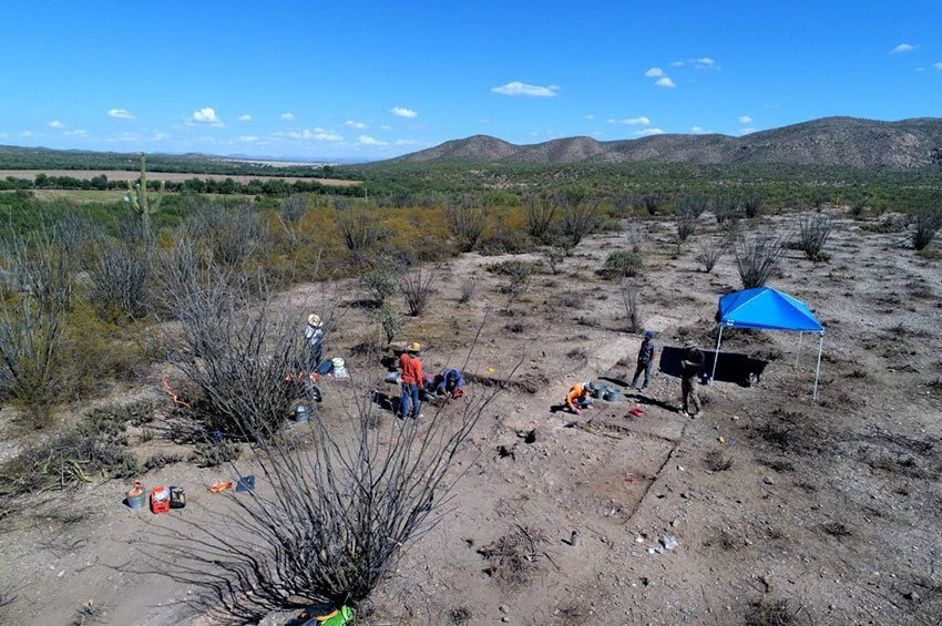 Archaeological exploration at the Altar Valley.