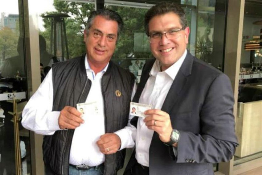 Rodríguez, left, and Ríos Piter: the first is on the ballot, the second perhaps.