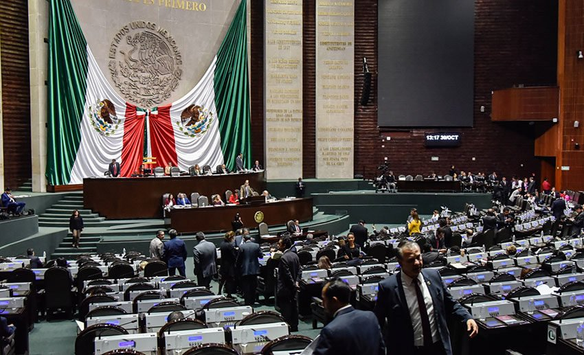 Mexico's lower house approved the immunity changes yesterday.