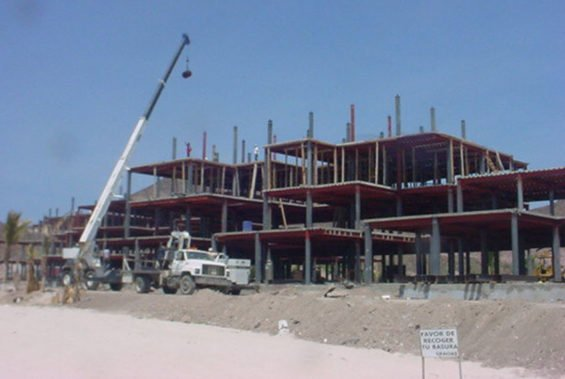 Construction was a big driver of growth in Baja California Sur last year.