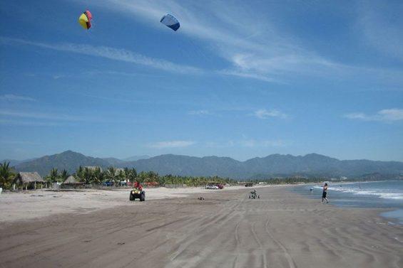 Matanchén beach, Nayarit.