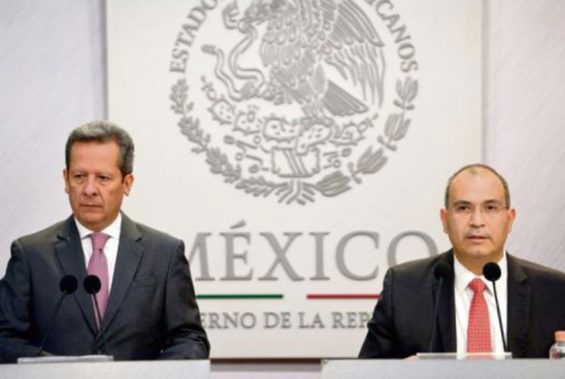 Sánchez, left, and Treviño: a scourge for Pemex.