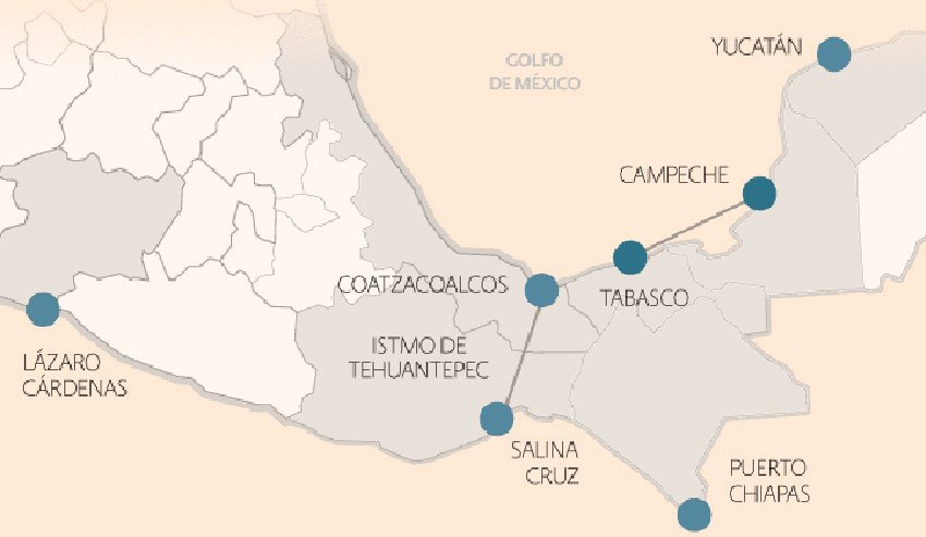 The Special Economic Zones for which funding was announced yesterday.