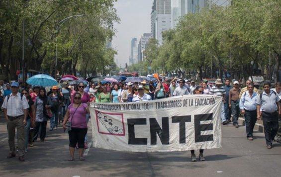 cnte teachers protest