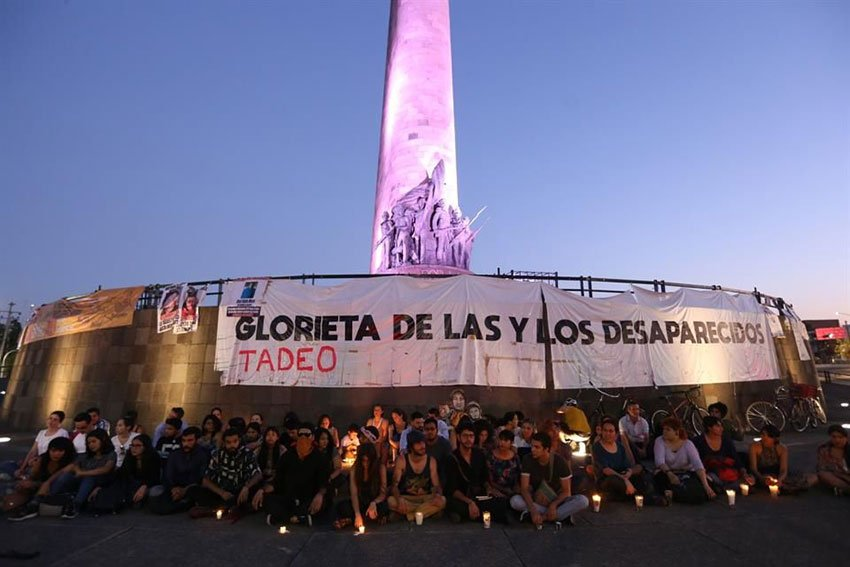 Don't let the violence become normal was one message of participants in a vigil last night in Guadalajara.