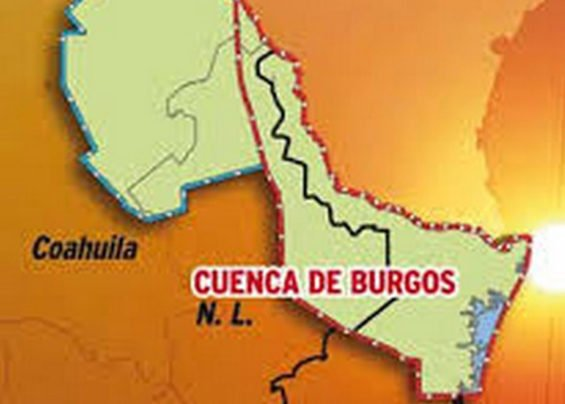 The shale-rich Burgos Basin, parts of which lie in Nuevo León and two other states.
