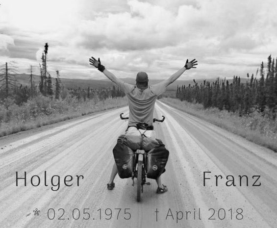 A photo on Rainer Hagenbusch's Facebook page pays tribute to his brother.